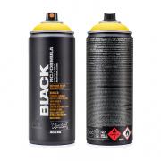 Montana Black Spray Paint Kickng Yellow (no cap) 400ml