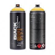 Montana Black Spray Paint Yellow (no cap) 400ml