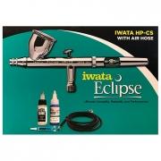 Iwata Eclipse HP-CS ECL 4501 Large Gravity Feed Airbrush Set
