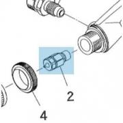 Iwata Fluid Nozzle .4mm