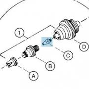 Iwata Fluid Head-Nozzle 0.18mm
