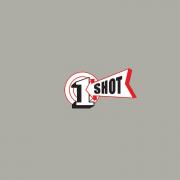 1 Shot Lettering Enamel Sign Paint Medium Gray 4 oz - SPECIAL ORDER