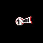 1 Shot Lettering Enamel Sign Paint Black 8 oz - SPECIAL ORDER