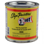 One Shot Fast Dry Gold Size 8oz