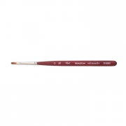 Princeton Velvetouch Series 3950 Mixed Media Brush 0 Mini Filbert