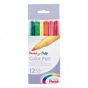 Pentel Artsr Color Penr 12-Color Set
