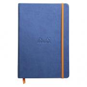 Rhodia Webnotebook A5 5.5x8.5 Lined Sapphire