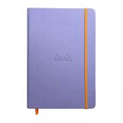 Rhodia Webnotebook A5 5.5x8.5 Lined Iris