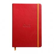 Rhodia Webnotebook A5 5.5x8.5 Lined Poppy