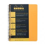 Rhodia Meeting Book A5 6-1/2 x 8-1/4 Spiral Orange