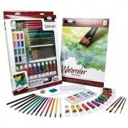 Deluxe Watercolor Mixed Media Art Set