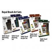 Royal Brush Medium A Table Easel Set Acrylic