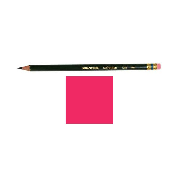 Prismacolor Col Erase Colored Pencil Carmine Red 20045 Art Materials Online