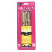 Pigma Micron 3-Pack Black