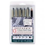 Zentangle 11pc Clam Micron Set