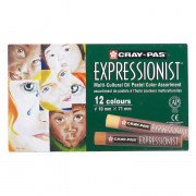 Cray-Pas Expressionist 12pk Multicultural