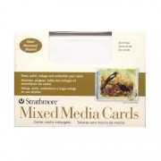 Strathmore Mixed Media Greeting Cards Annc 10 Pack