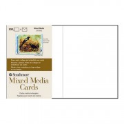 Strathmore Mixed Media Blank Greeting Cards 100 Pack