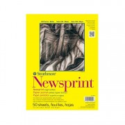 Strathmore 300 Series Rough Newsprint Pad 14x17 50sh/pad