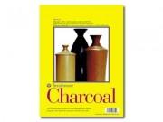 Charcoal Pad Spiral 11x17
