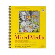 Mixed Media Pad 90# 40sh 9x12