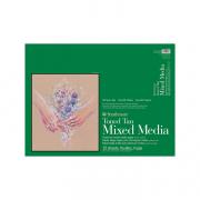 Toned Mixed Media Paper Pads 400 Series 18x24 Tan 15sh
