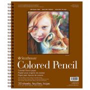 Colored Pencil Pad 400 9X12 30SH