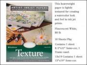 Ink Jet Paper Texture 8.5x11