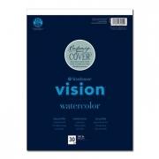 Vision Watercolor Paper Pad 18 x 24 30 Sheets