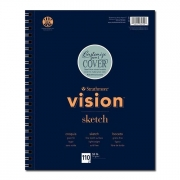 Vision Sketch Paper Pad 11 x 14 110 Sheets