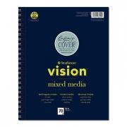 Vision Mixed Media Paper Pad 5.5 x 8.5 70 Sheets