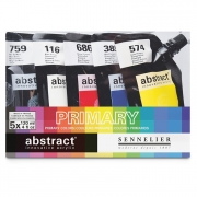 Sennelier Sennelier Abstract Acrylic Primary Color Set of 5