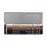 Cretacolor Oil Pencil Tin Set of 6