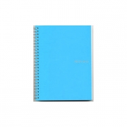 Fabriano Ecoqua Spiral Grid Notebook Sea Blue A5
