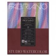 Fabriano Studio Watercolor Pad 9 x 12 90gsm Cold Press 75 Sheets
