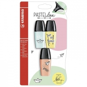 Stabilo Boss Mini Pastellove Highlighter Set of 3