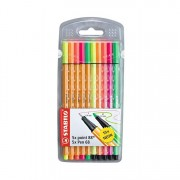 Stabilo Point 88 and 68 Marker Neon Set of 10