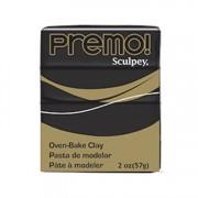 Sculpey Premo Oven Bake Clay 2oz Black -- SPECIAL ORDER