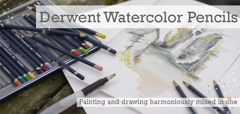 derwent watercolor pencils