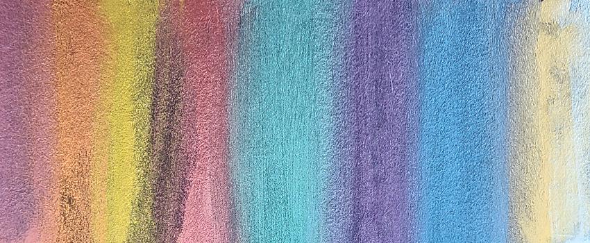 finetec metallic watercolor rainbow