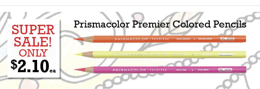 Prismacolor Premier Colored Pencils on sale