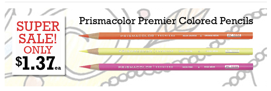 Prismacolor Premier Colored Pencils on sale