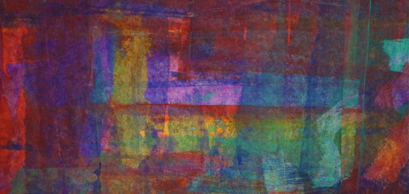 expressionist abstract painting