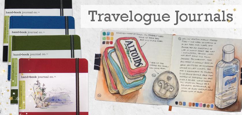 travelogue artists journals