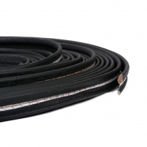 3/4 Repp Wire-on Binding Black