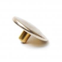Baby Durasnap Cap Nickel Brass