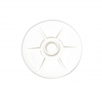 YKK SNAD Domed White
