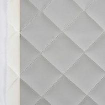 """Double Quilted Blizzard 905  Grey Mist 2""""x2"""" F/RL"""
