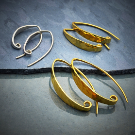 Hammered Earring - Shop by Design