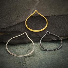 Wide Bottom Teardrop Link - Shop by Design
